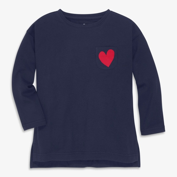 🆕 EUC Primary legging tee with heart size 4-5